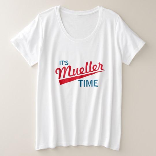 It's Mueller Time Women's Plus-Size Basic T-Shirt