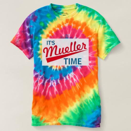 It's Mueller Time Women's Spiral Tie-Dye T-Shirt