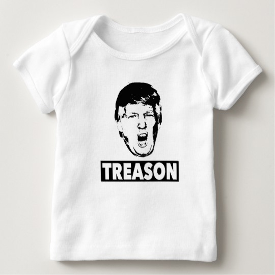 Trump Treason Baby American Apparel Lap T-Shirt