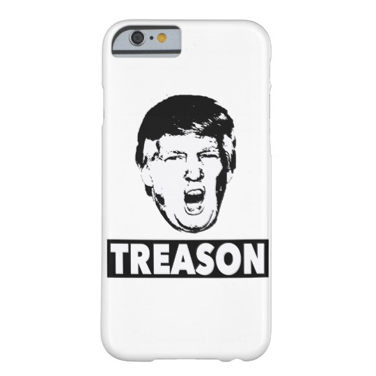 Trump Treason Case-Mate Barely There iPhone 6/6s Case