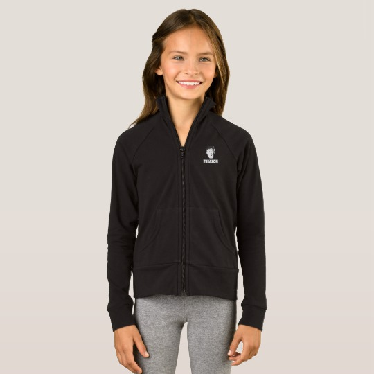 Trump Treason Girls' Boxercraft Practice Jacket