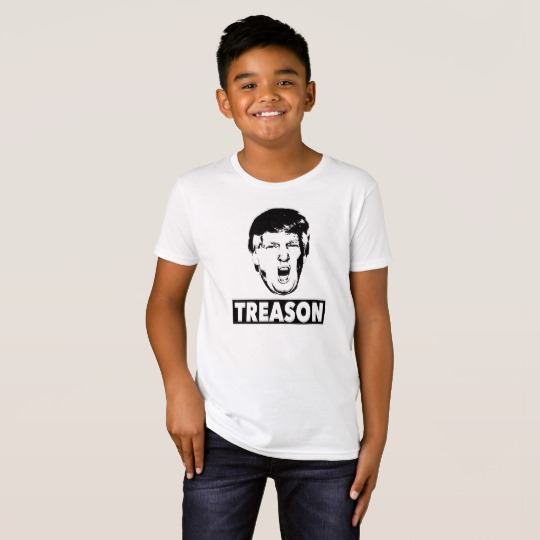 Trump Treason Kids' American Apparel Organic T-Shirt