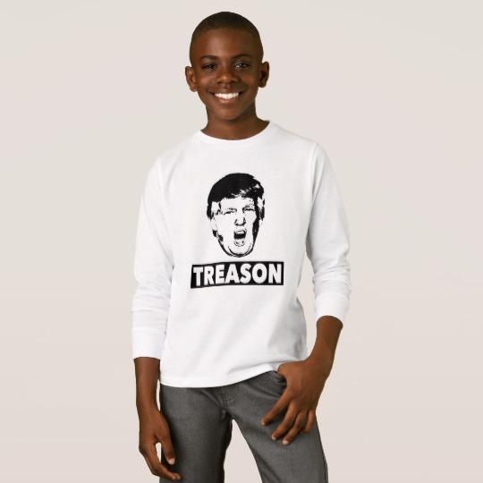 Trump Treason Kids' Basic Long Sleeve T-Shirt