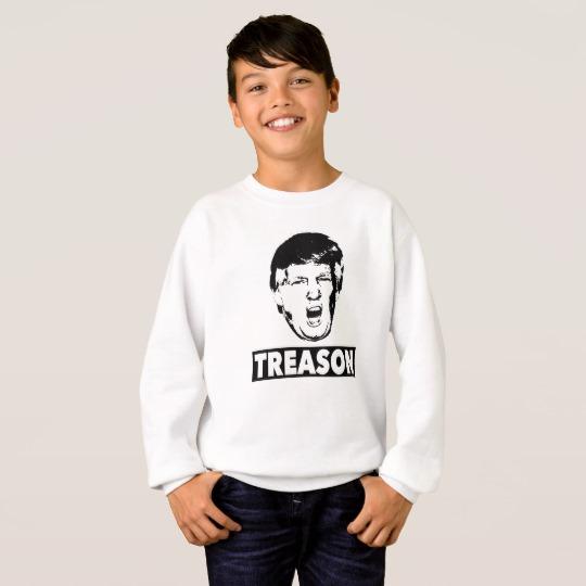 Trump Treason Kids' Hanes ComfortBlend® Sweatshirt