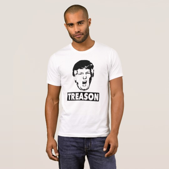 Trump Treason Men's Alternative Apparel Crew Neck T-Shirt