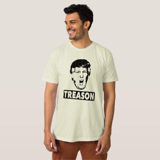 Trump Treason Men's American Apparel Organic T-Shirt
