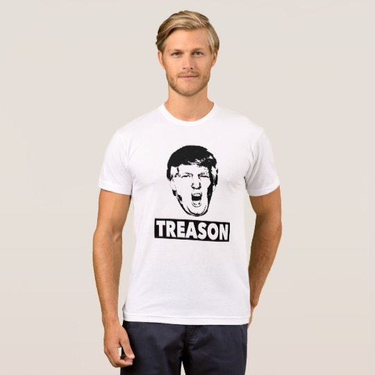 Trump Treason Men's American Apparel Poly-Cotton Blend T-Shirt