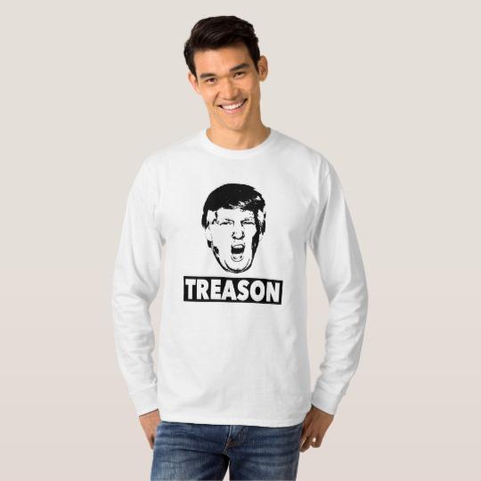 Trump Treason Men's Basic Long Sleeve T-Shirt