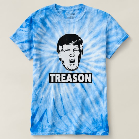 Trump Treason Men's Cyclone Tie-Dye T-Shirt