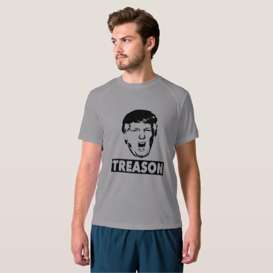 Trump Treason Men's New Balance T-Shirt