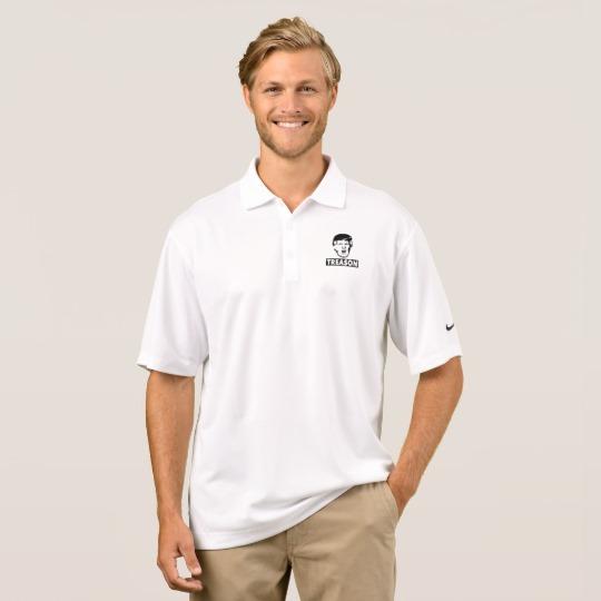 Trump Treason Men's Nike Dri-FIT Pique Polo Shirt