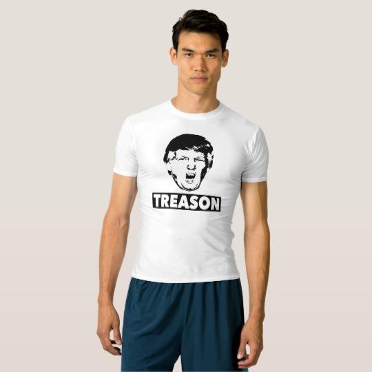 Trump Treason Men's Performance Compression T-Shirt