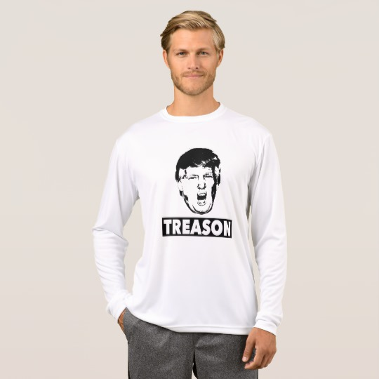 Trump Treason Men's Sport-Tek Competitor Long Sleeve T-Shirt