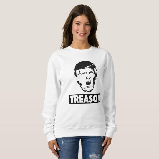 Trump Treason Women's Basic Sweatshirt
