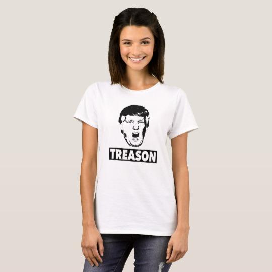 Trump Treason Women's Basic T-Shirt