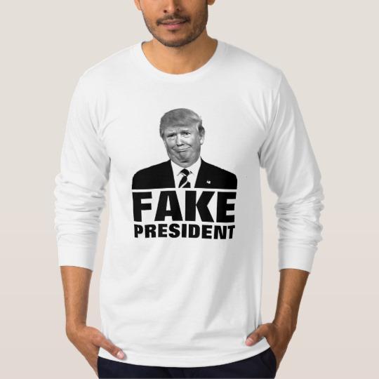 Donald Trump Fake President Basic T-Shirt