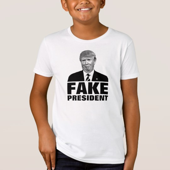 Donald Trump Fake President Kids' American Apparel Organic T-Shirt