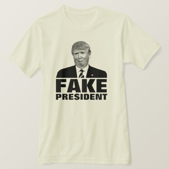 Donald Trump Fake President Men's American Apparel Organic T-Shirt