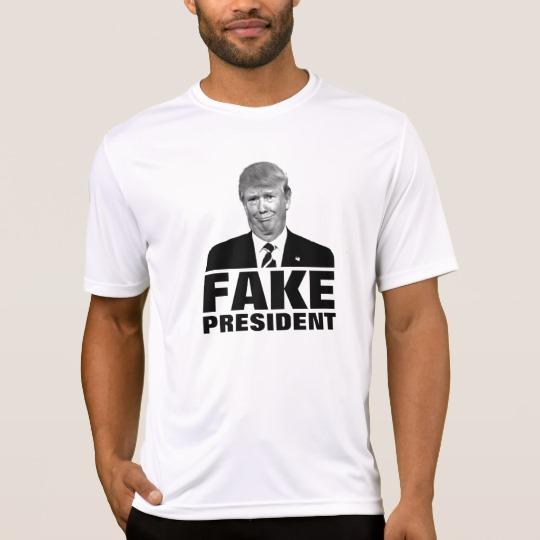 Donald Trump Fake President Men's Sport-Tek Competitor T-Shirt
