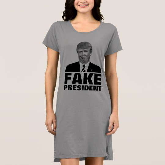 Donald Trump Fake President Women's Alternative Apparel T-Shirt Dress