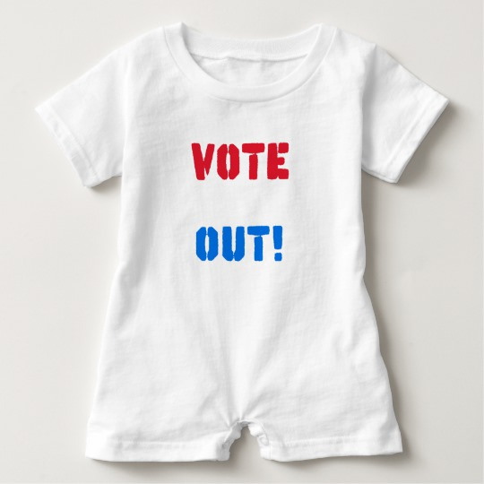 Vote em Out Baby Romper