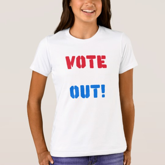 Vote em Out Girls' Bella+Canvas Crew T-Shirt