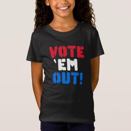 Vote em Out Girls' Fine Jersey T-Shirt