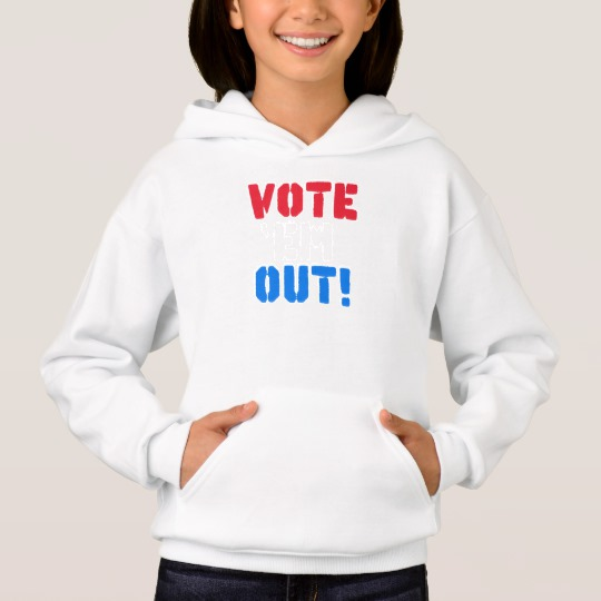 Vote em Out Girls' Hanes ComfortBlend® Hoodie