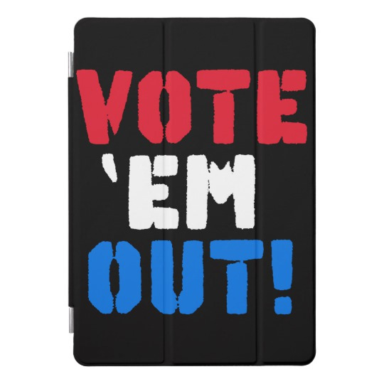 Vote em Out iPad Pro Cover