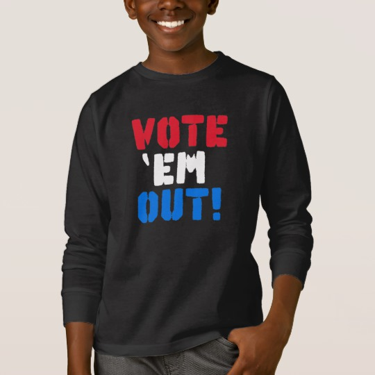 Vote em Out Kids' Basic Long Sleeve T-Shirt