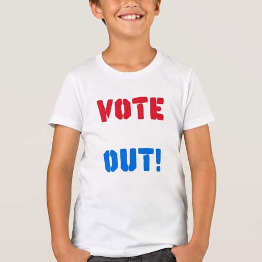 Vote em Out Kids' Bella+Canvas Crew T-Shirt