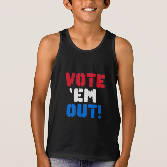 Vote em Out Kids' Bella+Canvas Jersey Tank Top