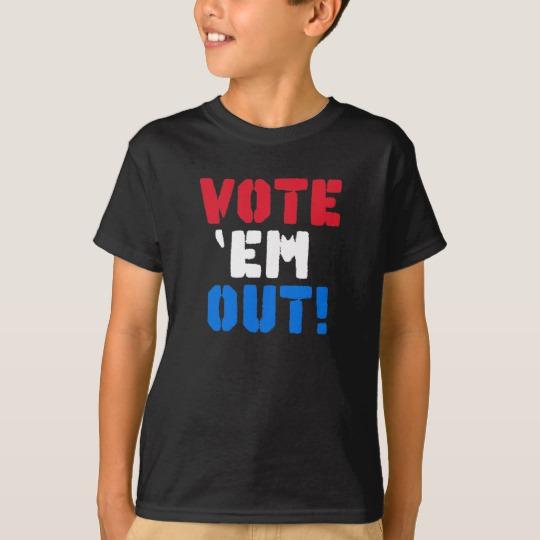 Vote em Out Kids' Hanes TAGLESS® T-Shirt