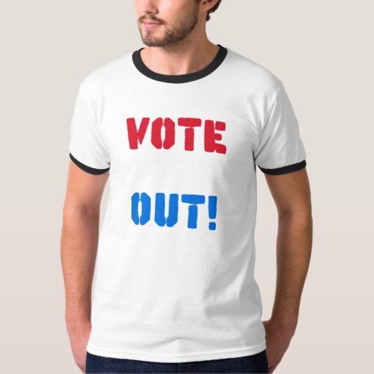 Vote em Out Men's Basic Ringer T-Shirt