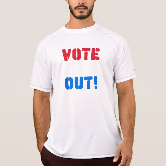 Vote em Out Men's Champion Double Dry Mesh T-Shirt