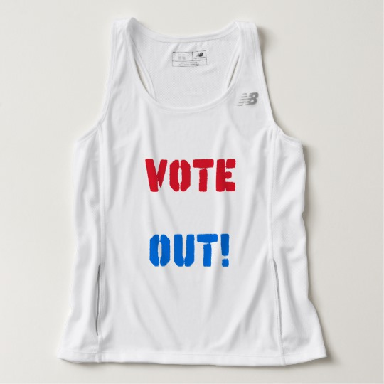 Vote em Out Men's New Balance Tempo Running Tank Top