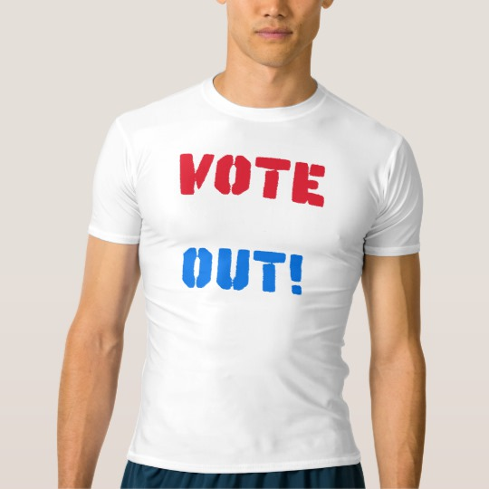 Vote em Out Men's Performance Compression T-Shirt