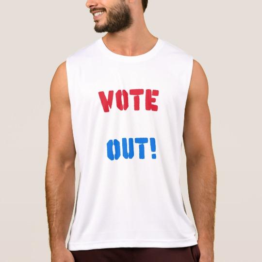 Vote em Out Men's Performance Tank Top