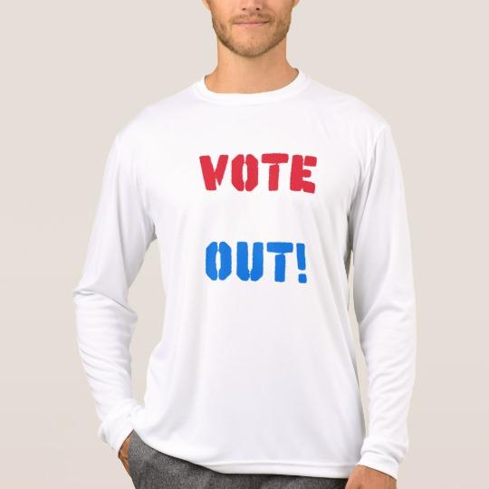 Vote em Out Men's Sport-Tek Competitor Long Sleeve T-Shirt