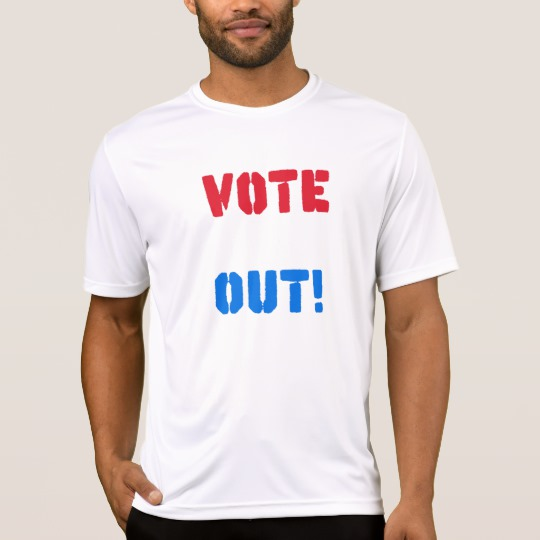 Vote em Out Men's Sport-Tek Competitor T-Shirt