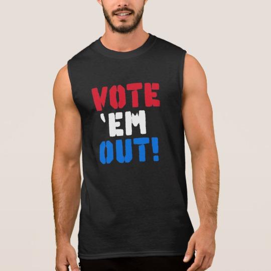 Vote em Out Men's Ultra Cotton Sleeveless T-Shirt