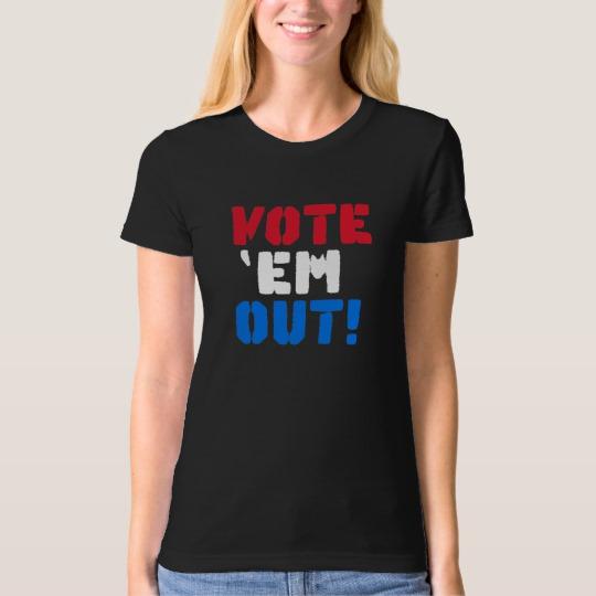 Vote em Out Women's American Apparel Organic T-Shirt