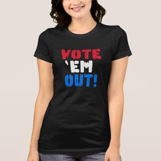 Vote em Out Women's Bella+Canvas Favorite Jersey T-Shirt