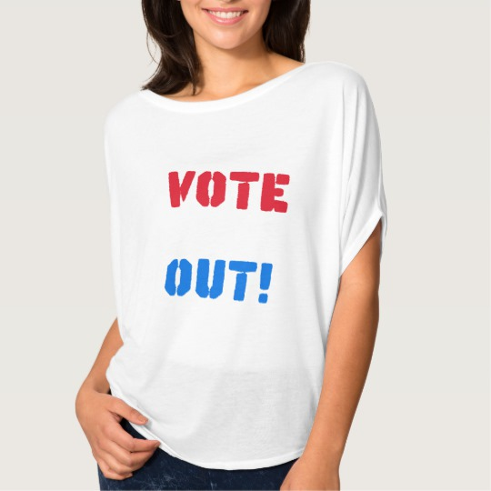 Vote em Out Women's Bella+Canvas Flowy Circle Top