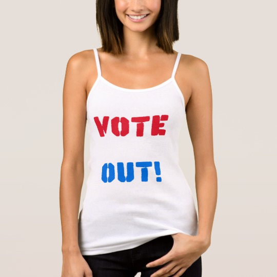 Vote em Out Women's Bella+Canvas Spaghetti Strap Tank Top