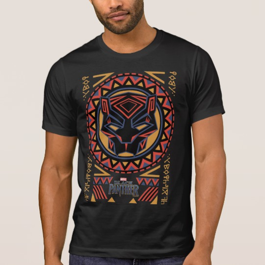Black Panther Tribal Head Men's Alternative Apparel Crew Neck T-Shirt