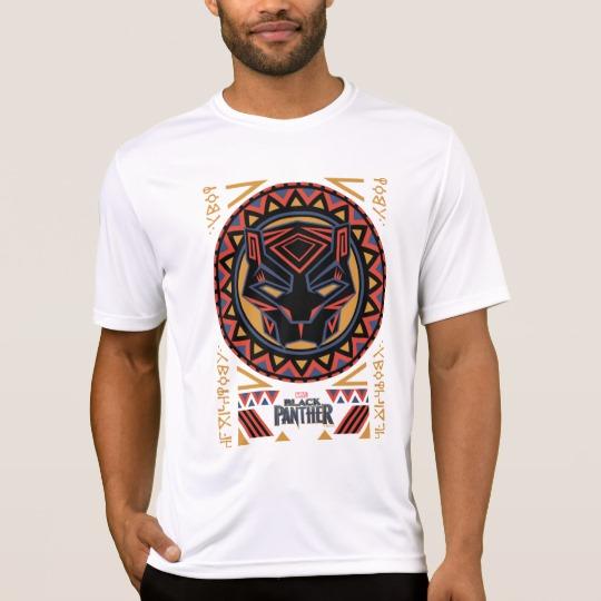 Black Panther Tribal Head Men's Sport-Tek Competitor T-Shirt