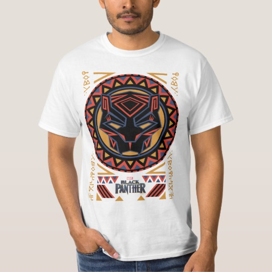 Black Panther Tribal Head Value T-Shirt