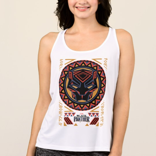 Black Panther Tribal Head Women's All Sport Performance Tank Top