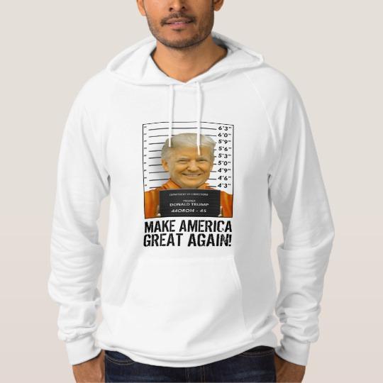 Trump Prison Mugshot MAGA Basic T-Shirt